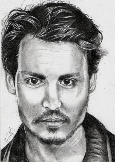 Johnny Depp by Veronica
